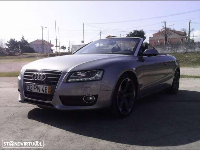 Usados Audi A5 Cabrio - 28 800 EUR, 174 792 KM, 2010  | Standvirtual