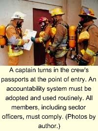 The importance of an incident management (command) system to the efficiency of emergency incident operations has been well demonstrated. Much has been written about the command organization and the incident commander. Little has been written about the sector officer-the workhorse of the organization.