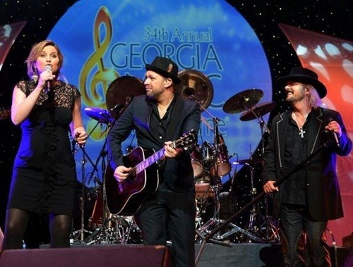 Sugarland performs at the GA Music Hall of Fame on Sunday, October 14th.
