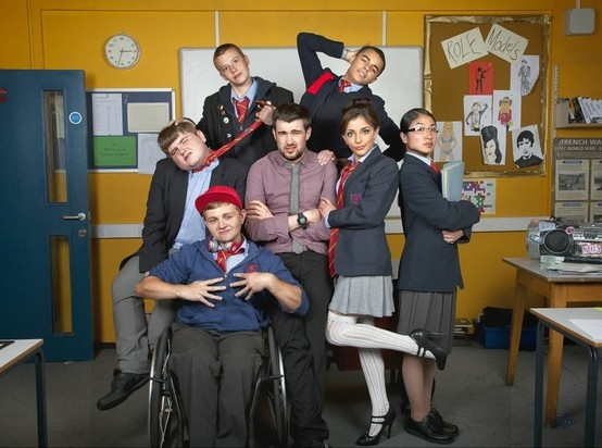 Bad Education  BBC Three's Comedy starring Jack Whitehall as the worst teacher ever. I actually like this!