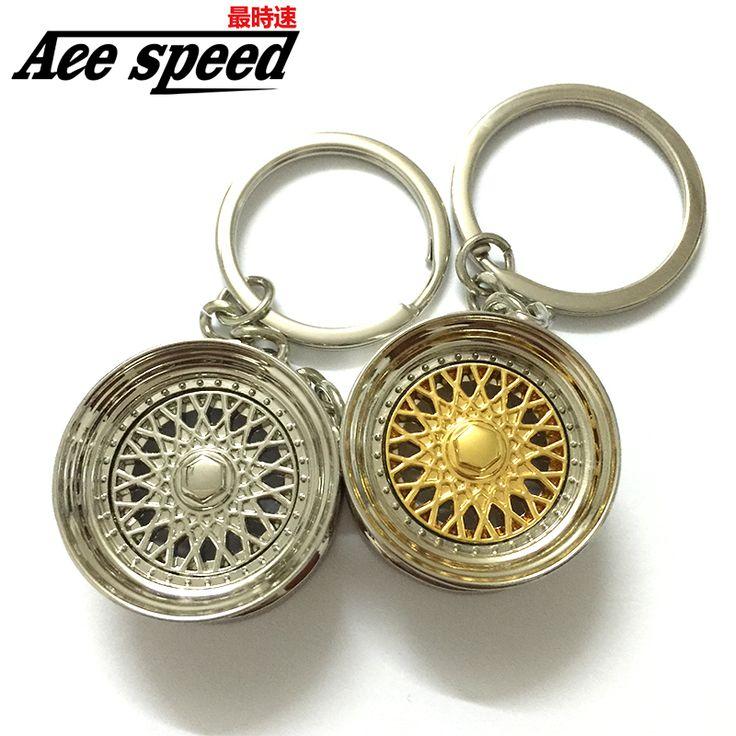 Ace speed-Aluminum new BBS Wheel Rim Keychain Creative Auto Part Car Keyring Key Chain Ring Keyfob Holder♦️ SMS - F A S H I O N  http://www.sms.hr/products/ace-speed-aluminum-new-bbs-wheel-rim-keychain-creative-auto-part-car-keyring-key-chain-ring-keyfob-holder/ US $2.15