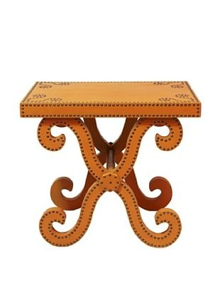 -51,400% OFF Lisbon Accent Table, Orange