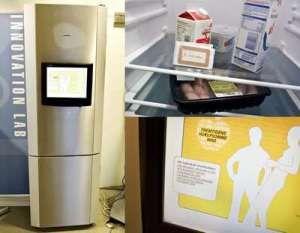 Worlds first intelligent refrigerator