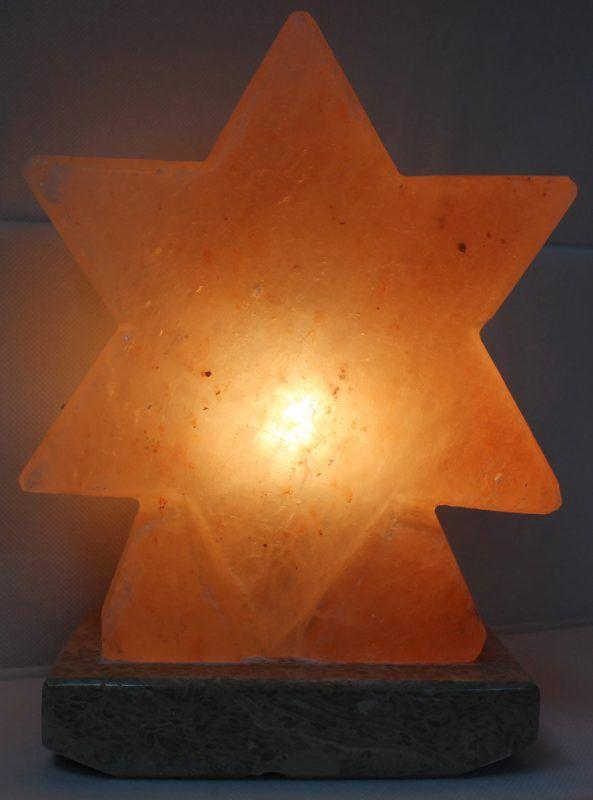 Crafted Himalayan Star Salt Lamp | Himalayan Salt Factory