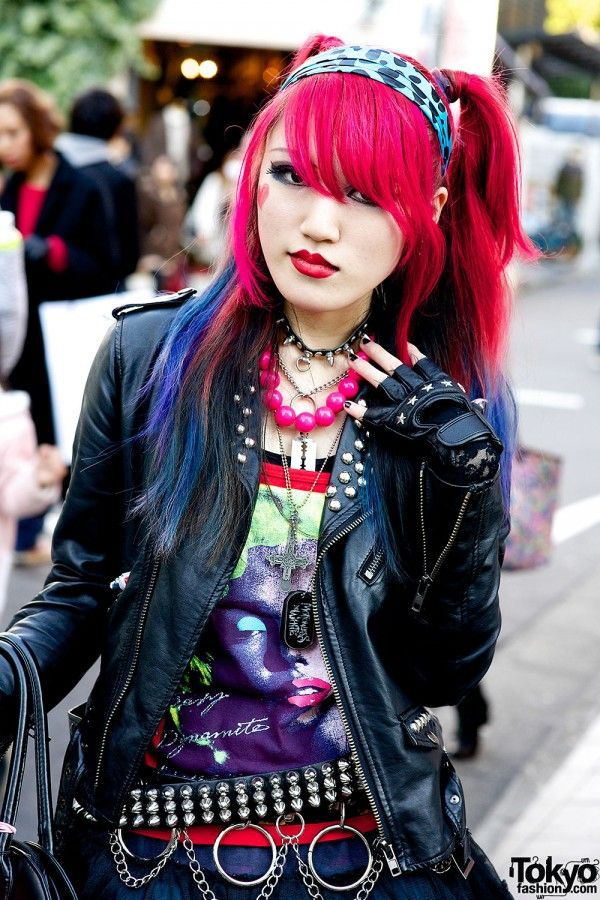 Harajuku Punk Style Japan Fashion Pinterest Awesome