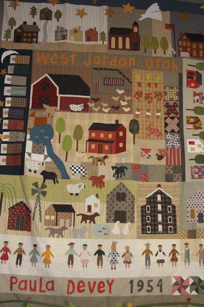 Jan Patek inspired quilt