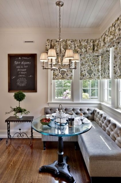 love the banquette
