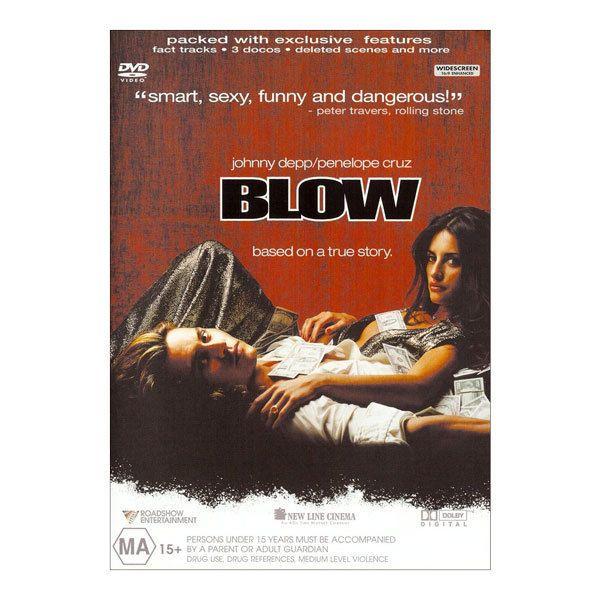Blow DVD Brand New Region 4 Aust. - Johnny Depp