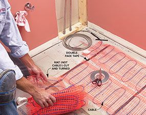The Art Gallery Electric vs Hydronic Radiant Heat Systems