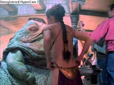 Hot Damn - Leia slave costume outtakes