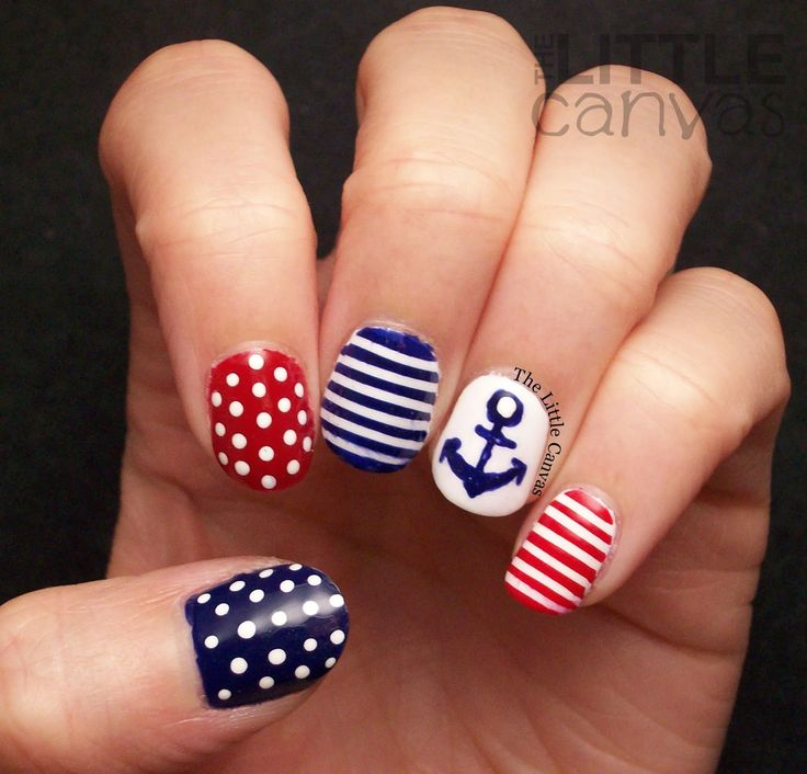 Best 25+ Nautical nail designs ideas on Pinterest | Nautical nails, Sailor  nails and Anchor nails - Best 25+ Nautical Nail Designs Ideas On Pinterest Nautical Nails