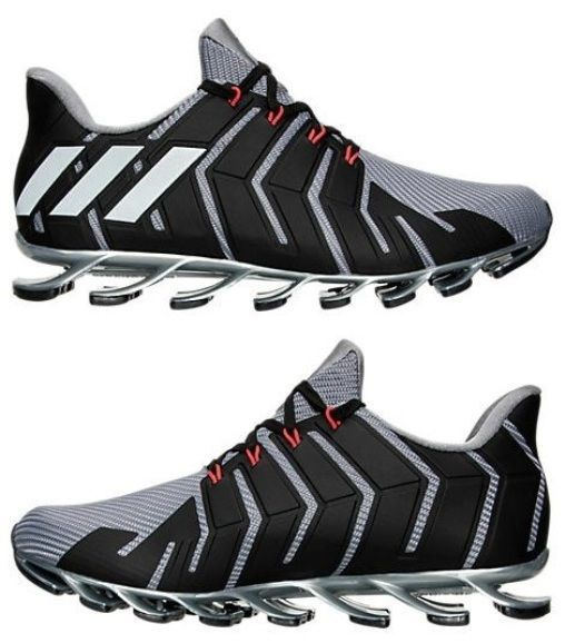 c6517046a6 ... usa adidas springblade pro mens running m mesh grey black authentic new  in box sz 27efa ...