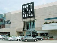 South Coast Plaza, Costa Mesa, CA  huge shopping HUGE!!! biggest venue until mall of america came away the winner~