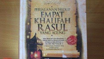 Jual Buku Biografi Perjalanan Hidup Empat Khalifah Rasul