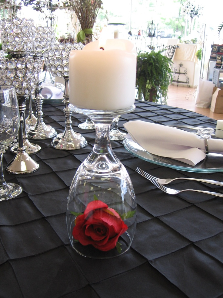 1000 images about rose centerpieces classic on for Rose under glass