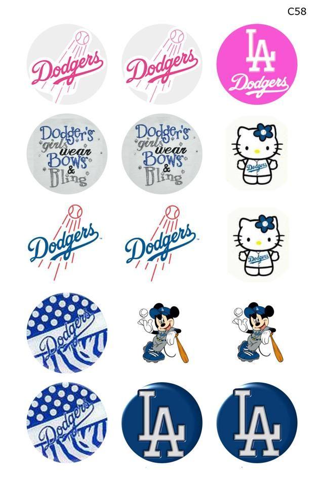 L.A. Dodgers cap images.