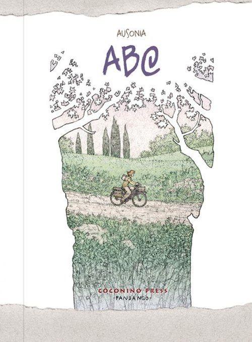 copertina del libro raffigurante una ragazza in bicicletta in una verde campagna
