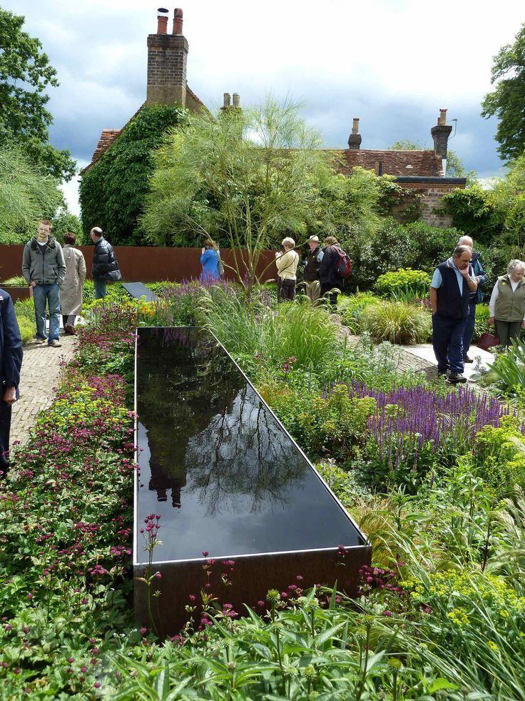 Corten Teich Tom Stuart Smith Garten Moderner Garten Mediterrane Gartengestaltung