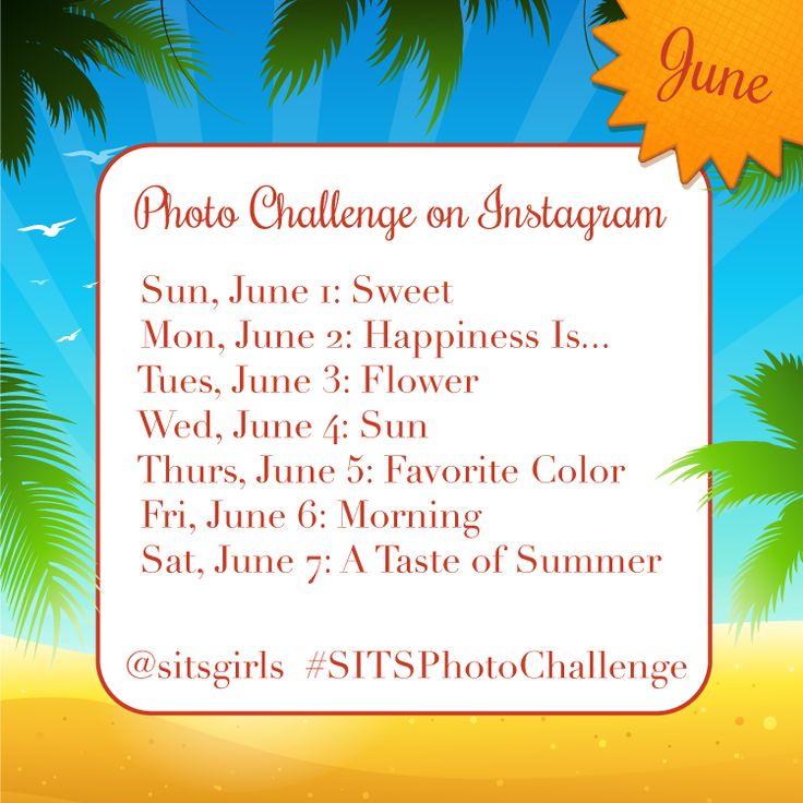 photo challenge: Girls Sitsphotochalleng, Instagram Challenges, Challenges Week, Girls Instagram, Blog Ideas, June Instagram, Photo Challenges, Blog Events, Instagram Photo