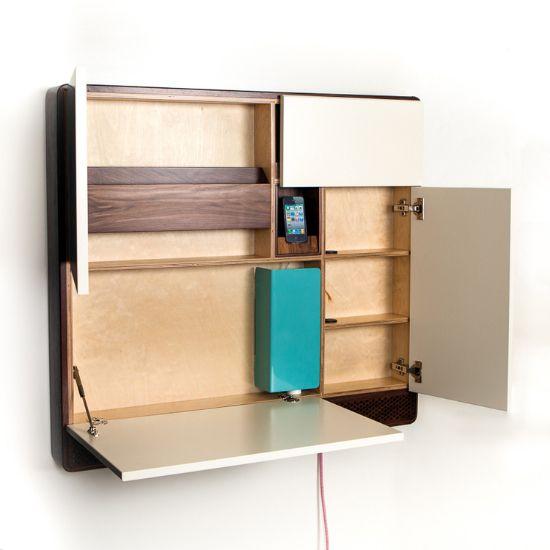 M s de 1000 ideas sobre escritorios peque os en pinterest - Escritorios para espacios pequenos ...