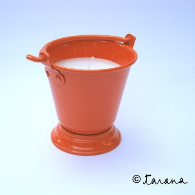 A quirky bucket of wax that is sure to brighten your day!