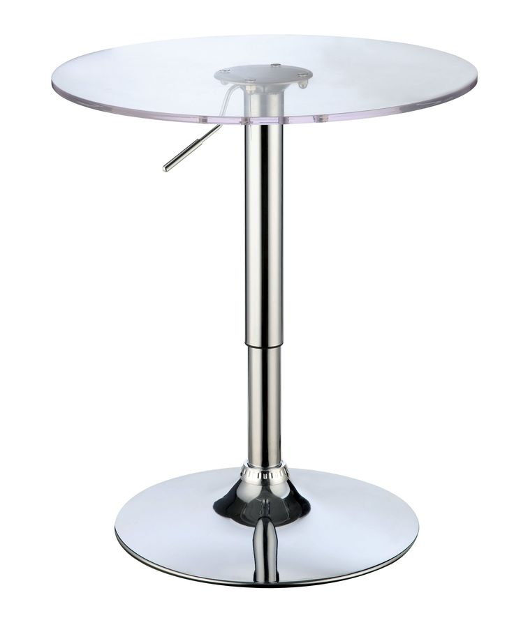Enitial Lab Pascal Contemporary Bar Table in White