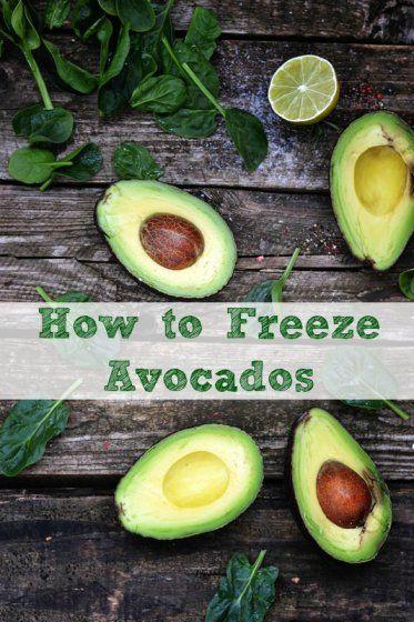 How to Freeze Avocados - via HotCouponWorld.com