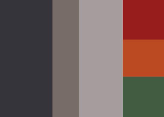 North by Northwest color scheme