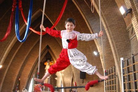 oefeningen circus