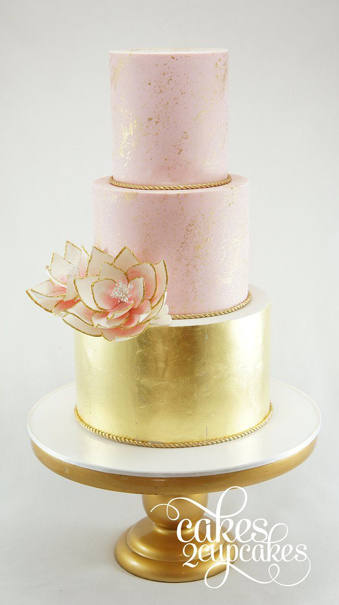 blush and gold wedding cake 17 best ideas about 1 tier wedding cakes on 12032