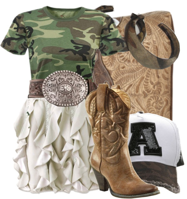 """""""Camo Cap"""" by saintcharlesstyle on Polyvore"""