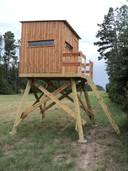 Hunting Box Blinds Plans