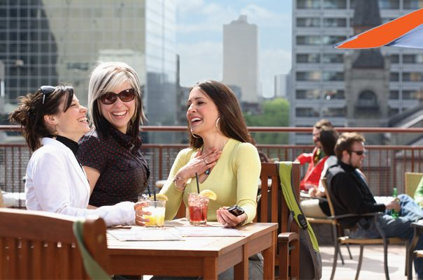 Dinner on a rooftop with food provided by one of Downtown's top restaurants Win your Winnipeg adventure including flight, hotel and an adventure YOU choose! Visit http://www.tourismwinnipeg.com/pin-and-winnipeg to enter!