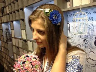 Людмила Перевертень.КлубОК: Веночек - очень красивый аксессуар и один из самых...