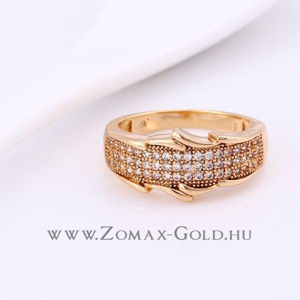 Livia gyűrű - Zomax Gold divatékszer www.zomax-gold.hu