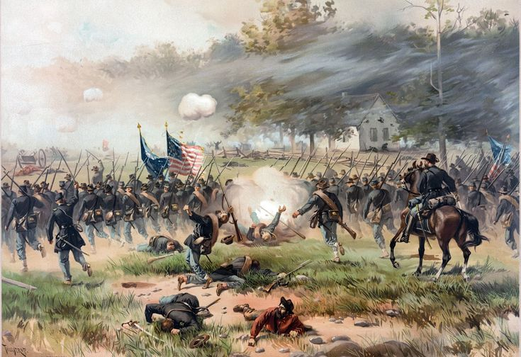 Thure de Thulstrup Civil War art | American Civil War Forums