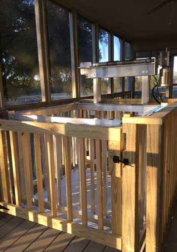 Voyager DIY Cargo Lift Possibilities For The House In