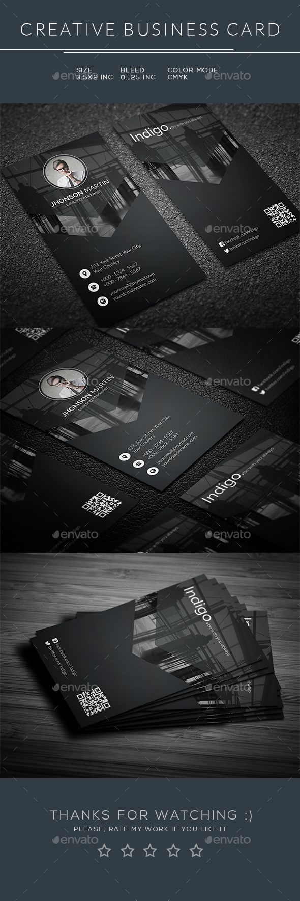 Business Card — Photoshop PSD #elegant #green • Available here → https://graphicriver.net/item/business-card/17303895?ref=pxcr