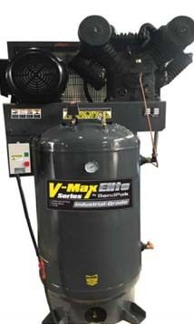 Bendpak VMX-7580V-603 7.5 Hp 80 Gallon V-Max Elite Air Compressor