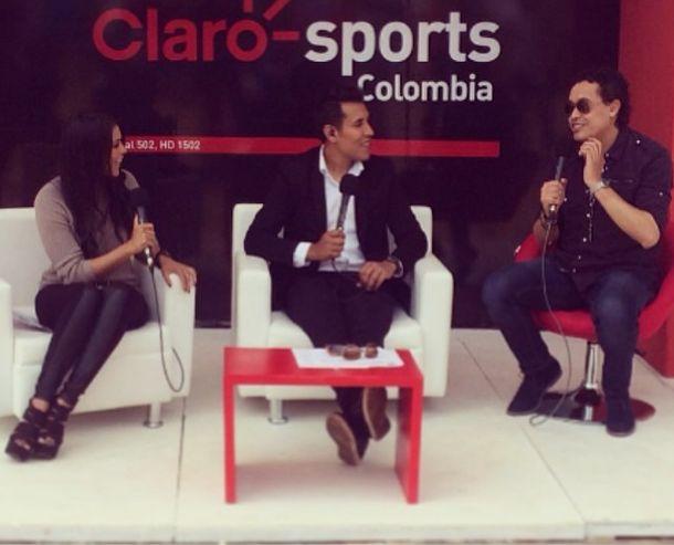 #clarosportscolombia junto a @Camiloporrast @dannymaring #wtacolsanitas #tenis