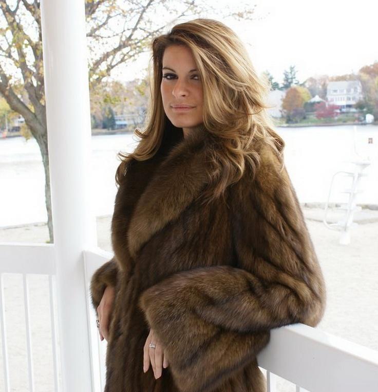 Sable coat