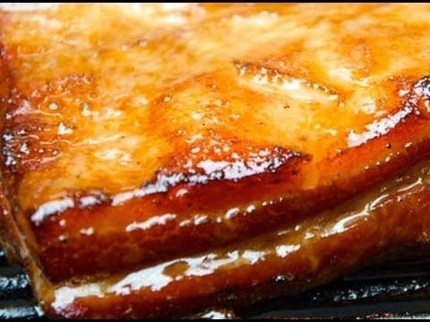 Wet Cured Bacon Recipe! Served with a Deep Fried Poached Egg!