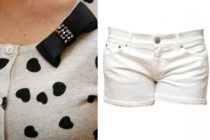 Outfit fresco Shorts #Dondup e Cardigan #Luckylu    www.malagridabbigliamento.it