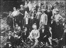 Emilio Aguinaldo (seated 3rd from right)