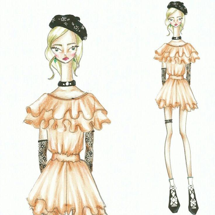 Wonderland (10)  Fashion sketch