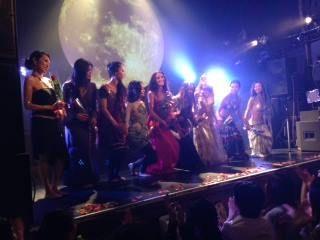 9th annual Devadasi Festival - Solo Show- in Tokyo June 15th 2014.  Beautiful 61 dancers danced their solo, improvising, honoring their divine feminine.