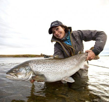 April Vokey and a monster Argentinian sea trout