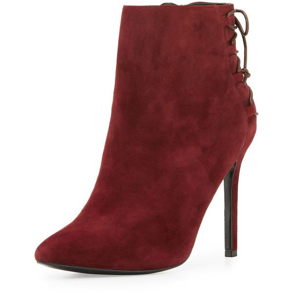irene neuwirth jewelry Charles David Catherine Suede 95mm Bootie  290 AUD