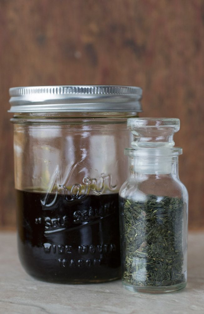 DIY Green Tea Skin Serum recipe from Mountain Rose Herbs.