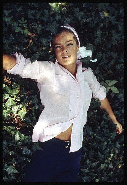 Romy Schneider. Actress. She loved Chanel.
